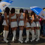 Фотографии девушек на стартовых решетках. Автогонки-40