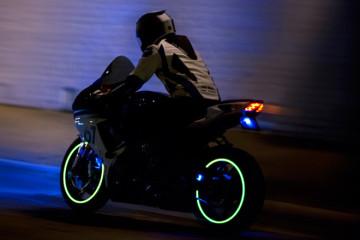 Мотоцикл Трон Lunasee LED