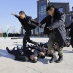 Школа телохранителей в Китае. Фоторепортаж4