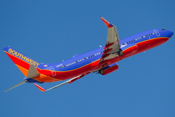 Southwest Airlines Боинг