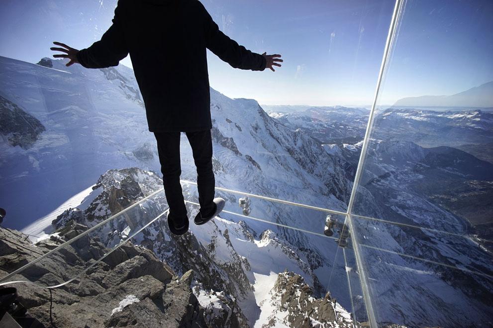 Стеклянная терраса. Французские альпы. Фоторепортаж1