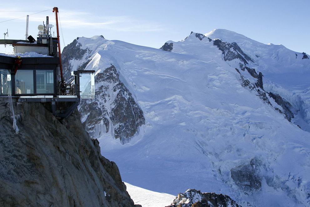 Стеклянная терраса. Французские альпы. Фоторепортаж10