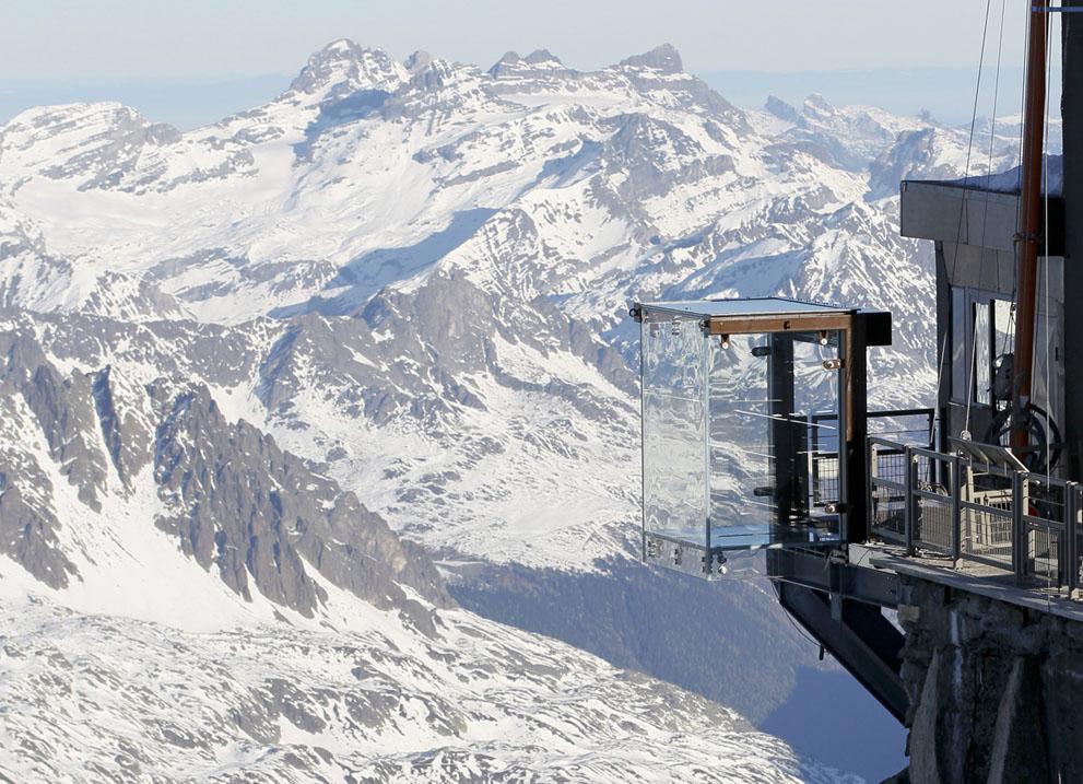 Стеклянная терраса. Французские альпы. Фоторепортаж3