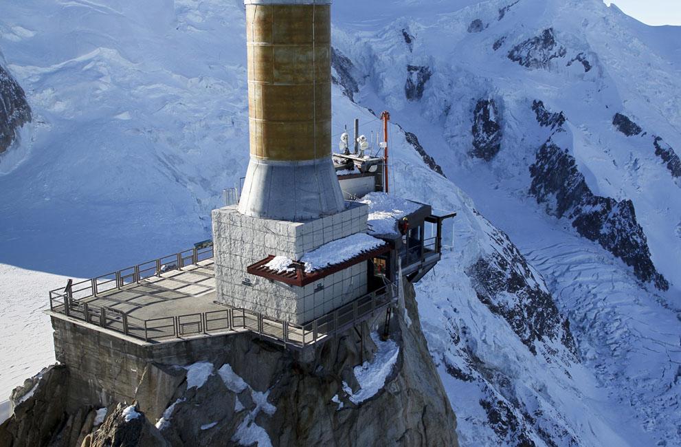Стеклянная терраса. Французские альпы. Фоторепортаж4
