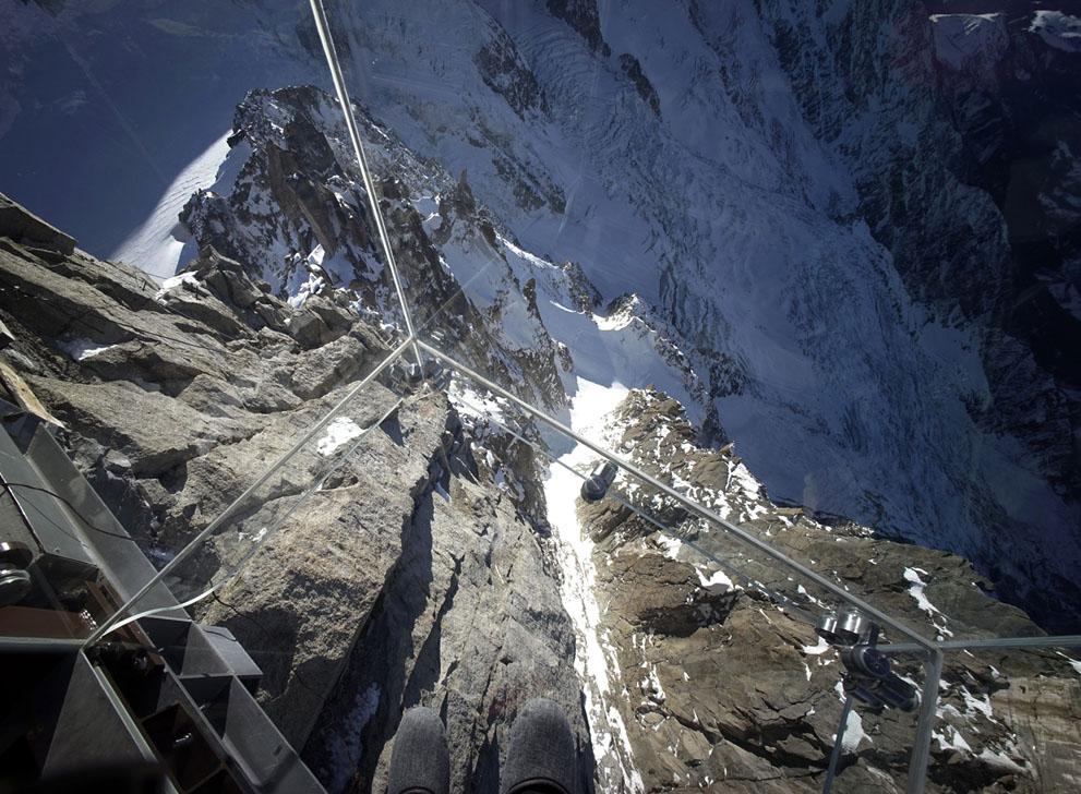 Стеклянная терраса. Французские альпы. Фоторепортаж5