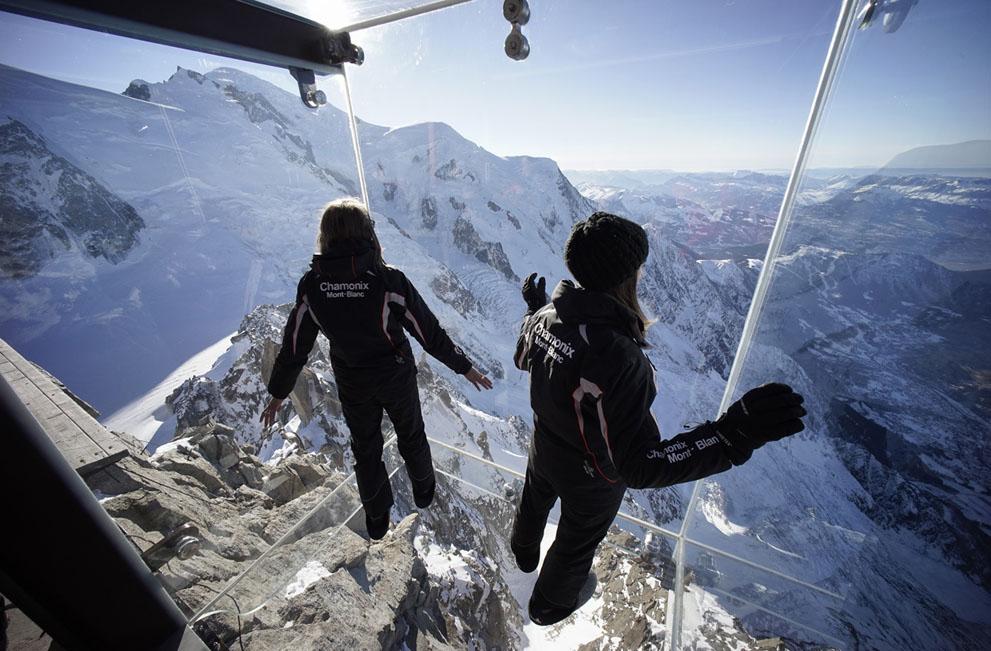 Стеклянная терраса. Французские альпы. Фоторепортаж7