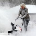 Сильные морозы в США