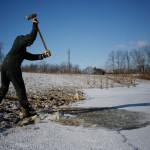 Ледяной шторм в США. Фото №14