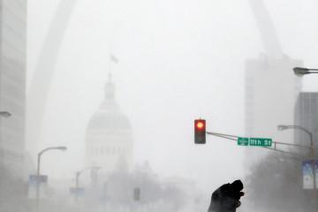 Ледяной шторм в США. Фото №3