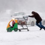 Ледяной шторм в США. Фото №9