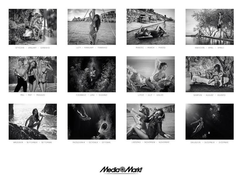 Media Markt эротический календарь на 2014 год. Фото №1