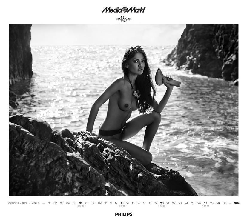 Media Markt эротический календарь на 2014 год. Фото №10
