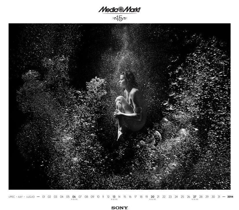 Media Markt эротический календарь на 2014 год. Фото №7
