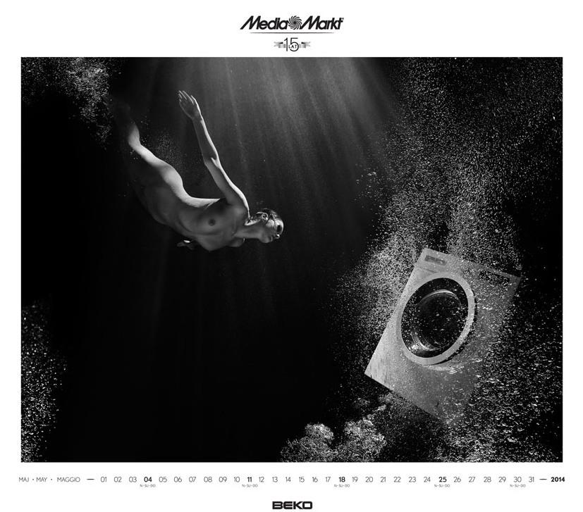 Media Markt эротический календарь на 2014 год. Фото №9