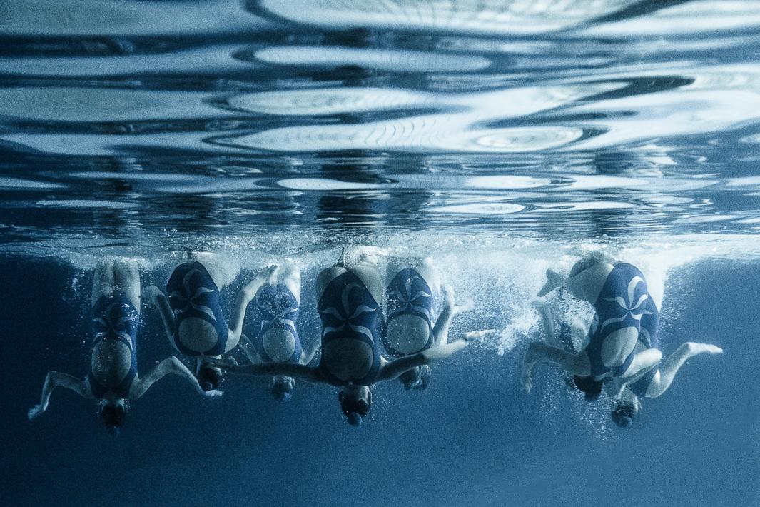 Синхронное плавание. Фото№6