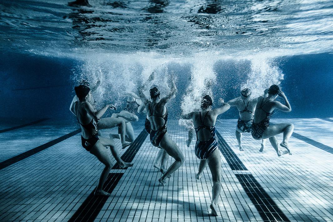 Синхронное плавание. Фото№7