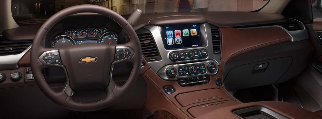 Новый Chevrolet-tahoe 2015
